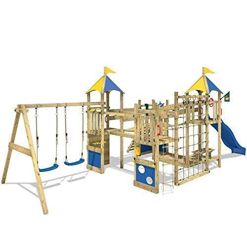 Wickey parco giochi smart king torre di arrampicata con for Wickey altalena