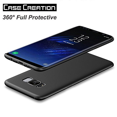 Back Case For Samsung Galaxy S8+, Case Creation (TM) Samsung Galaxy S8+ / Samsung Galaxy S8 Plus 6.2″ inchUltra Thin Perfect Fitting Premium Imported High quality 0.3mm Crystal Matte Finish Totu Silicone Transparent Flexible Soft Black Border Corner protection with TPU Slim Back Case Back Cover