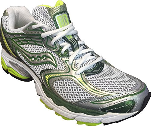 Saucony ProGrid Guide 3 Women White/Green/Silver UK 9,0/EU 43,0 - Saucony Progrid Guide Schuhe