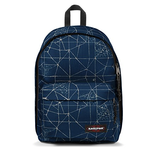 Eastpak Out Of Office Sac à  dos, 44 cm, 27 L, Bleu (Cracked Blue)