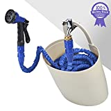 Best Outdoor Garden Hose Storages - DOMIRE 2017 Expandable Garden Hose Pipe With Garden Review