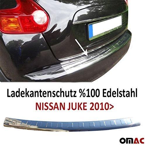 Chrom Edelstahl Ladentenschutz StoàŸstange hinten Mit Abntung Juke 2010-2014 (Nissan Zubehör 2012 Juke)