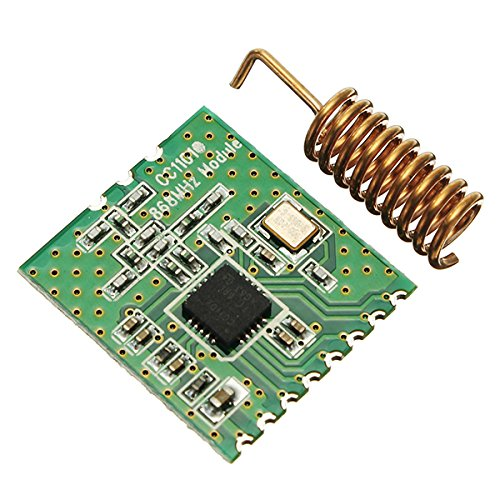 ILS - CC1101-868MHz 2-3.6V RF Low Power UHF Wireless Transceiver Module 1.2K to 500kps 64 Bytes SPI Interface Wake-On-Radio Support FSK GFSK Ask/OOK and MSK -