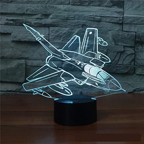 Flugzeuge Ferngesteuertes 3D-Licht Multicolor Led-Nachtlichter Mit Touch-Led Für Eine Komfortable Atmosphäre Desktop Usb