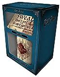 Harry Potter - Marauders Map - Limited Edition Gift Box Geschenkset Fanartikel je 1x Lizenz-Tasse, 1x Schlüsselanhänger und 1x Untersetzer
