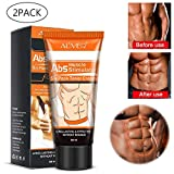 Fat Burning Cream For Men, 2 Pcs Advanced Liposuction Slimming Cream Muscle Cellulite