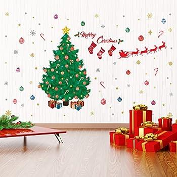 Wallflexi Christmas Decorations Wall Stickers  Part 64