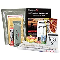 Self Heating Field Ration Pack Ready to Eat Meal Menu D 15