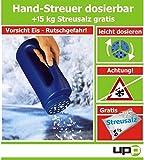 UPP Products Spargitore manuale incluso 15kg gratis di sale