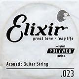 Elixir Gitarrensaite 0.023 (80/20 Bronze, Polyweb-Beschichtung)