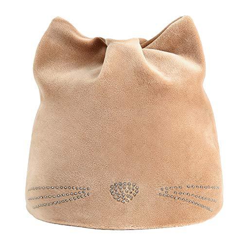 VRTUR Damen Winter Warm Katzenohren Mütze Hut Russisch Kappen Kat Hüt Ohren schützer Hut Caps