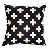 Cdet Kissenbezüge Kreative Muster Baumwolle Pillow Cover Haupt Dekoration Kissenbezug Baumwolle...