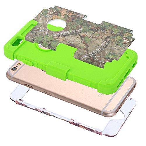 C-Super Mall-UK Apple iPhone 5C Fall, 3 in 1 Design-Hybrid-Fest Zurück Bumper für Apple iPhone 5C LD6031707