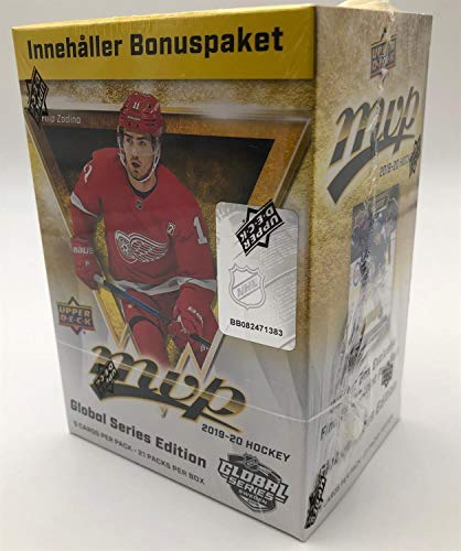 Upper Deck 2019-20 NHL MVP Global Series Blaster