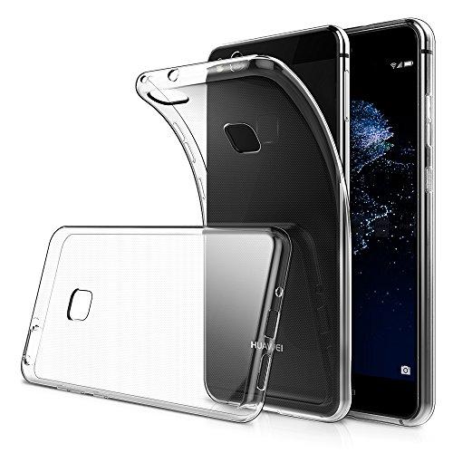 P10 Lite Hülle,[5-Jahres Garantie],Simpeak Schutzhülle Case für Huawei P10 Lite Silikon Transparent [ NICHT FITS Huawei P10]