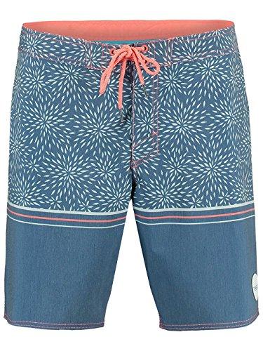 Boardshort O'Neill Pm For The Ocean - Blue Aop W-Bleu bleu rouge