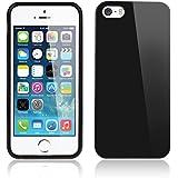 Bestwe coque Silicon pour iPhone 5 / 5S, Noir