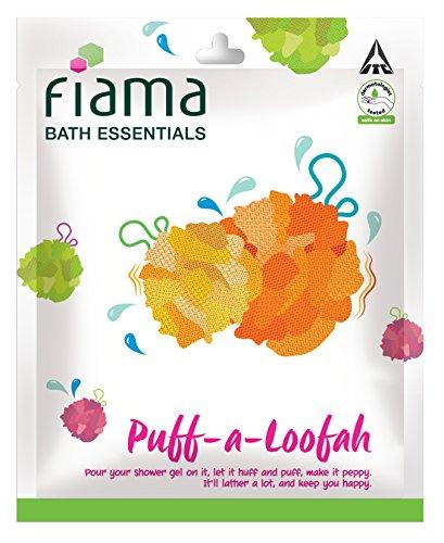 Fiama Bath Essentials Puff-a-Loofah(Color May Vary)