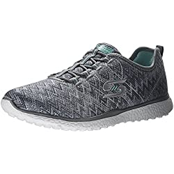Scarpe Women's Skechers MICROBURST FLUCTUATE 23304 GRY sneakers - 38 EU