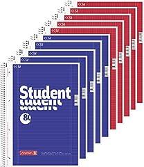 5 Brunnen Collegeblöcke Student A4
