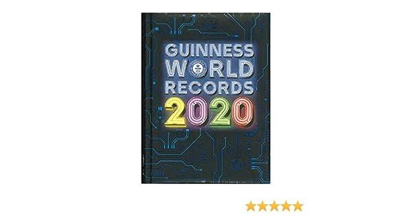Diario Guinnes World Record 2019//2020 Panini