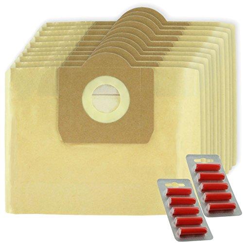 Spares2go bolsas grandes de filtración de doble pared para Karcher wd3wd3p mojado y seco aspiradora (lote de 10+ ambientadores)