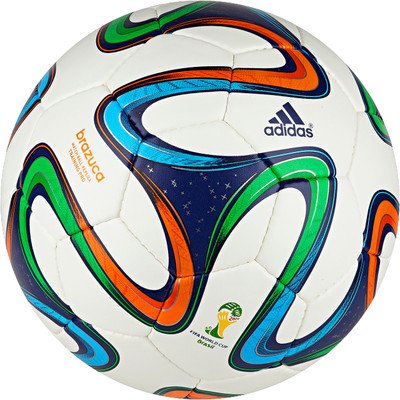 Adidas Brazuca Train Pro Football, Size 5  available at amazon for Rs.649
