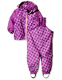 NAME IT Nitmist M Set Hyacinth Fo 116, Pantalones Impermeable Para Niños