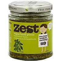 Zest Basil Vegan Pesto 165 g (Pack of 6)