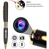 M MHB Spy Pen Camera, Portable Video & Photo Camcorder Series 1, Support 32GB Memory .Ball Pen, Best Security Camera with Video Recording & HD Voice Quality.