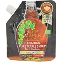 Shady Farms Pure Organic Maple Syrup Flexible Pouch 125 ml