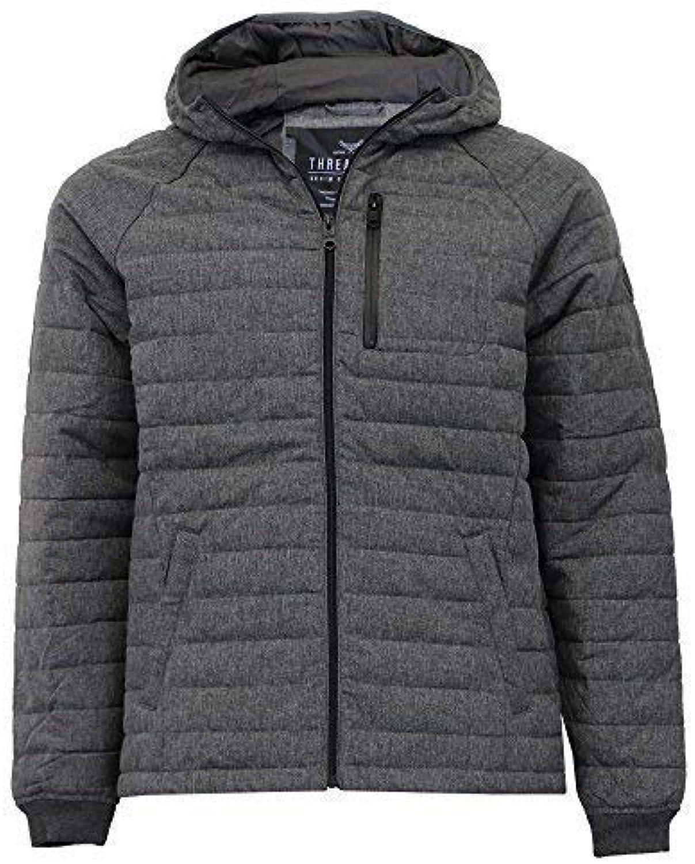 Uomo camo giacca Threadbare Giacca inverno imbottito trapuntato Felpa Con  Cappuccio Militare foderato inverno Giacca NUOVO 97b6370fd69