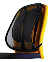Fellowes Mesh Office Suites - Respaldo lumbar ergonómico de malla