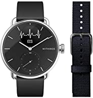 Withings Scanwatch, Hybrid Smart Watch with ECG