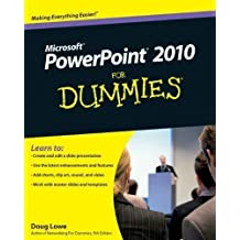 PowerPoint 2010 For Dummies 1st (first) Edition by Lowe, Doug published by For Dummies (2010)