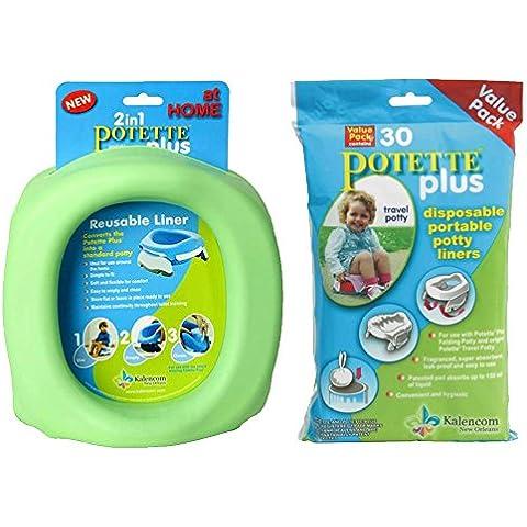 Kalencom potette Plus en casa + Verde 30Kalencom potette Plus Liners
