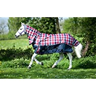 "Gallop Limited Edition Full Neck 250g Turnout Rug (6'3"" - EU 140cm, Britannia)"
