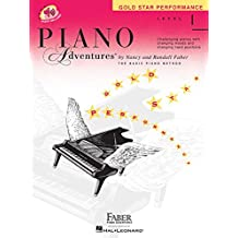 Piano Adventures Gold Star Performance Level 1: Challenging Pieces with Changing Moods and Changing Hand Positions
