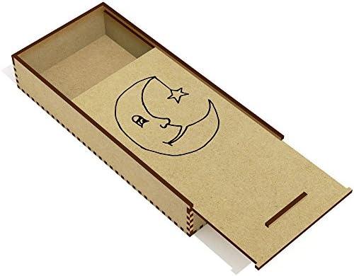 Azeeda 'Lune endormie' étui à Crayons / / / Porte-Crayons (PC00015897) 2e8073