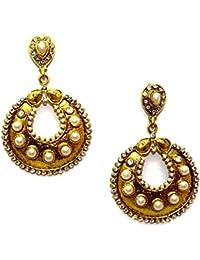La Trendz Multicolor Style Diva Drop Earrings