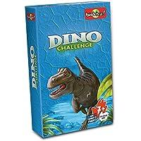 Asmodée - Dino Challenge, juego educativo, caja de color azul (DIN02)