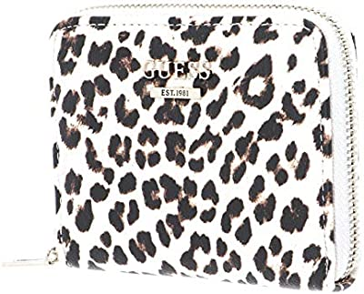 Guess Lorenna SLG Small Zip Around Leopard