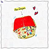 Superbottoms Cloth Diapers - Superbottoms Plus Reusable AIO Diaper With 2 Organic Cotton Soakers And Dry-feel [Day & Night Use] - Doodle Love By Alicia Souza