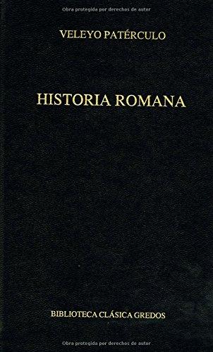 Descargar Libro Historia romana (B. CLÁSICA GREDOS) de Paterculo