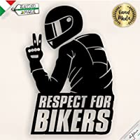 Adesivo Respect for Bikers
