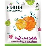 Fiama Bath Essentials Puff-a-Loofah (Color May Vary)