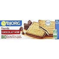 Bjorg - Fourrés au chocolat noir, certifié AB - Le paquet de 225g - Pirx Unitaire - Livraison Gratuit Sous 3 Jours