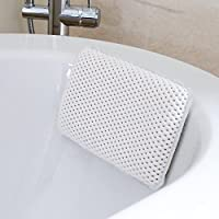 HANKEY Bathtub Pillow, Bath and Spa Head Rest with Suction Cups