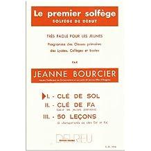 Premier solfège Volume 1 - Clé de Sol