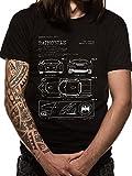 Photo de Batman Batmobile Blueprint, T-Shirt Homme par Batman